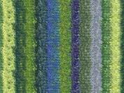 Noro Silk Garden Sock, Yellow, Green, Blue