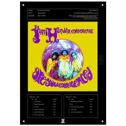 JIMI HENDRIX EXPERIENCE ARE YOU EXPERIENCED TIN SIGN