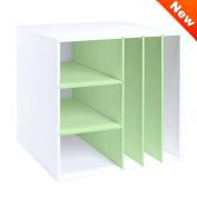 Multi-Shelf Organiser Cube - Mint