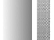 "Deleter Screen Tone Jr JR-189 [ Halftone Gradation Pattern 65L/5%-60% ] [Sheet Size 182x253mm (7.16""x9.96"")] For Comic Manga Illustration"