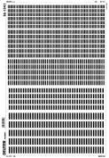 Deleter Screen Tone SE-1341 [ Black Rectangle Pattern ] [B4 Size
