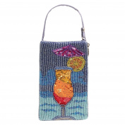 Women's Purse - Beaded Cocktail Wristlet Handbag - Daiquiri