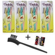 *Authentic Genuine* Tinkle Eyebrow Razor (12 pcs) + COTU (R) Eyebrow Brush