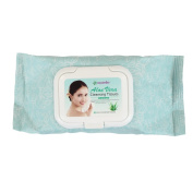 Epielle Aloe Vera Facial Cleansing Tissues-60ct