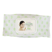 Epielle Cucumber Facial Cleansing Tissues-60ct