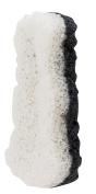 Danielle Konjac Dual-Sided Body Cleansing Sponge, Aloe/Charcoal
