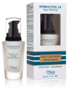 Dinur Cosmetics HYDRACTIVE 24 Eyes & Lips Wrinkle Release Serum 1 fl. oz. 30 ml.