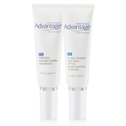 Morning and Evening Anti Ageing Hydration Kit with All Day Moisture SPF 15 50mls and Nighttime Renewal Complex 50mls