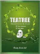 PREMIUM FACIAL MASK (10PK) - TEA TREE