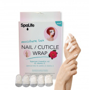 SpaLife Japanese Camellia Oil & Vitamin E Nail Cuticle Wrap 6 PACK (60 COUNT) Dermatologist Recommended Nail repair
