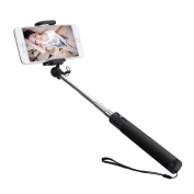 DZT1968 Portable Extendable Monopod Self-pole Handheld Wired Selfie Stick For iPhone