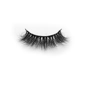 3D Criscross Thick Natural looking Soft Black Cotton Band 100% Real Mink Fur False Eyelashes