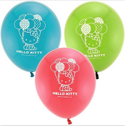 Hello Kitty Latex Balloons Birthday Decorations Party Supplies Favours Prizes