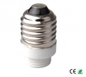 E-Simpo 10-pack E27 to G9 Adapter,E27 to G9 Lamp Base Converter,Ceramic, Z1123