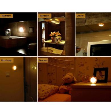 Lamps Warm White Led Night Lights Universal 80x26mm Cute Lamp Bedroom Light