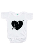 Custom Party Shop Baby's Heart Happy Valentine's Day Onepiece