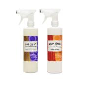 Indigo Wild Cleaner Frankincense and Myrrh, and Orange Bergamot Bundle with Fragrance, and Essential Oil, 470ml each