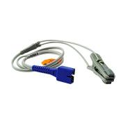 Zinnor New 9 Pins Oximax Veterinary SpO2 Ear Lingual Sensor VET for NELLCOR On Home Medical