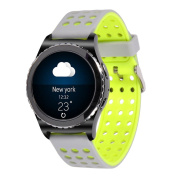 20mm Gear S2 Classic Smart Fitness Watch Band (SM-R732),Silicone Replacement for Samsung Galaxy Gear S2 Classic (Only for Classic Version)