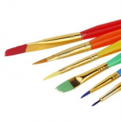 6 Pc Set Pastry and Cake Decorating Paint Brushes - Custom Baking and Decorating Tools from Bakell