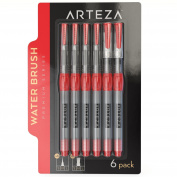 Arteza Water Brush Pens - Self-moistening - Portable