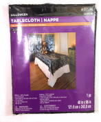 Ashland Halloween Tablecloth, Haunted Hallows, 120cm x 240cm , Sold as Each