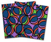 WraptorSkinz Vinyl Craft Cutter Designer 12x12 Sheets Crazy Dots 02 - 2 Pack