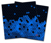 WraptorSkinz Vinyl Craft Cutter Designer 12x12 Sheets HEX Blue - 2 Pack
