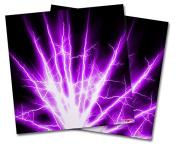 WraptorSkinz Vinyl Craft Cutter Designer 12x12 Sheets Lightning Purple - 2 Pack
