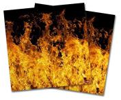 WraptorSkinz Vinyl Craft Cutter Designer 12x12 Sheets Open Fire - 2 Pack