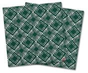 WraptorSkinz Vinyl Craft Cutter Designer 12x12 Sheets Wavey Hunter Green - 2 Pack
