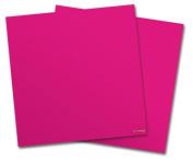 WraptorSkinz Vinyl Craft Cutter Designer 12x12 Sheets Solids Collection Fushia - 2 Pack