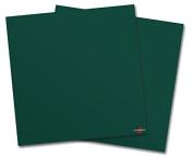 WraptorSkinz Vinyl Craft Cutter Designer 12x12 Sheets Solids Collection Hunter Green - 2 Pack