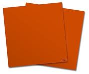 WraptorSkinz Vinyl Craft Cutter Designer 12x12 Sheets Solids Collection Burnt Orange - 2 Pack