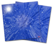 WraptorSkinz Vinyl Craft Cutter Designer 12x12 Sheets Stardust Blue - 2 Pack