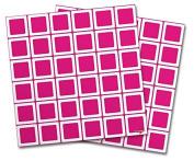 WraptorSkinz Vinyl Craft Cutter Designer 12x12 Sheets Squared Fushia Hot Pink - 2 Pack