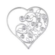 Wrisky Heart Cutting Dies Stencil For DIY Scrapbook Photo Album Paper Card Decor