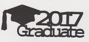2017 Graduate Die Cut Title - Graduation