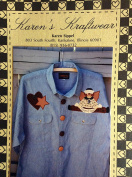 Karen's Kraftwear Applique for Clothing - Raggedy Angel