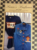 Karen's Kraftwear Applique for Clothing - Birdhouse - Home is Where You Build Your Nest
