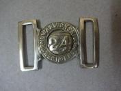 British Zulu War 2nd Warwickshire 24th Regiment of Foot Belt Buckle - Repro