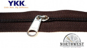 YKK #5 CN Zipper coil chain. Each yard comes with 1 slider.
