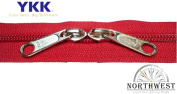 YKK #5 CN Zipper coil chain. Each yard comes with 2 sliders.