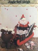 Jingle Bell Sleigh - Santa, Sleigh and Reindeer full size patterns