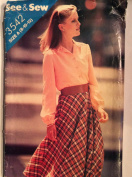 See & Sew Ladies Blouse & Skirt A size 8-10-12