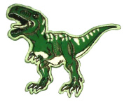 New T Rex Dinosaur Patch Iron on Embroidered