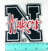 Nebraska Cornhuskers football logo Jacket T Shirt Patch Sew Iron on Embroidered Symbol Badge Cloth Sign Costume