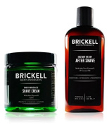 Brickell Men's Smooth Brushless Shave Routine