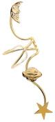 Ear Charm's Non-Pierced Galaxy Full Ear Spray Ear Cuff in Gold on Silver RIGHT Earring Cuff