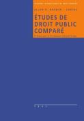 Etudes de Droit Public Compare